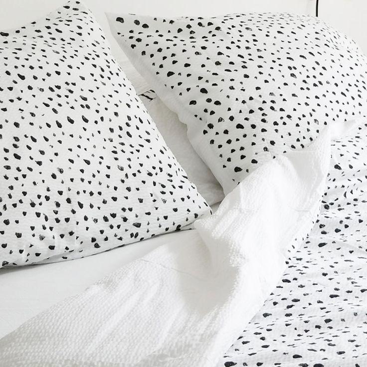 Dots duvet cover set - Crisp Sheets : Crisp Sheets