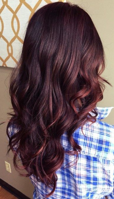 Gorgeous fall hair color for brunettes ideas (25)