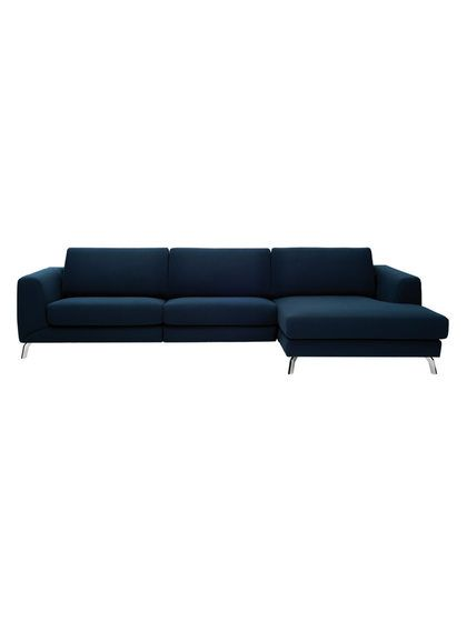 Lucas Three Seater L-Shape Sofa by URBN at Gilt