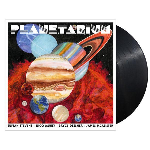 Sufjan Stevens, Bryce Dessner, Nico Muhly, James McAlister · Planetarium · Vinyl 2xLP · Black