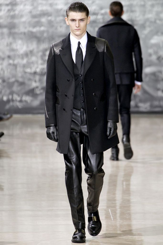 Yves Saint Laurent Fall 2012 Menswear Collection on Style.com: Runway Review
