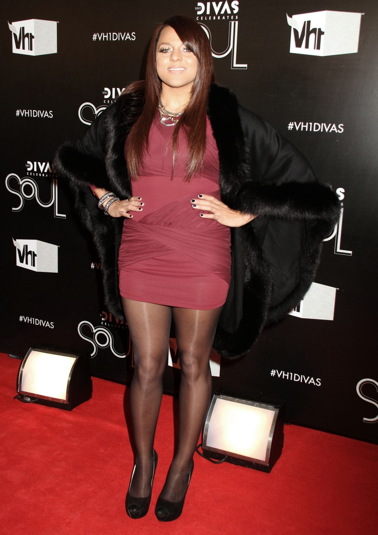 Marsha Ambrosius in pantyhose - More pictures here: http ...