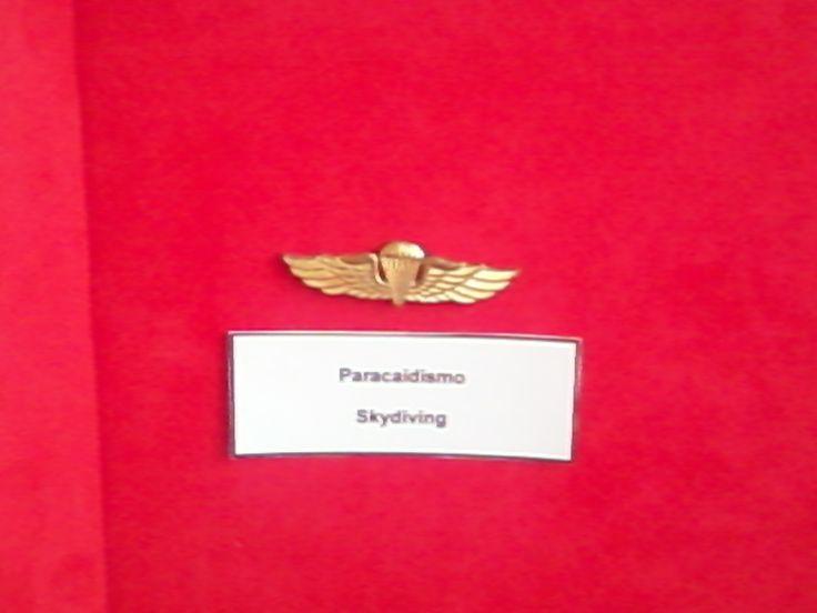 medalla de paracaidista