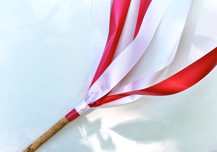 Canada Day Craft: Ribbon Wands   Play   CBC Parents