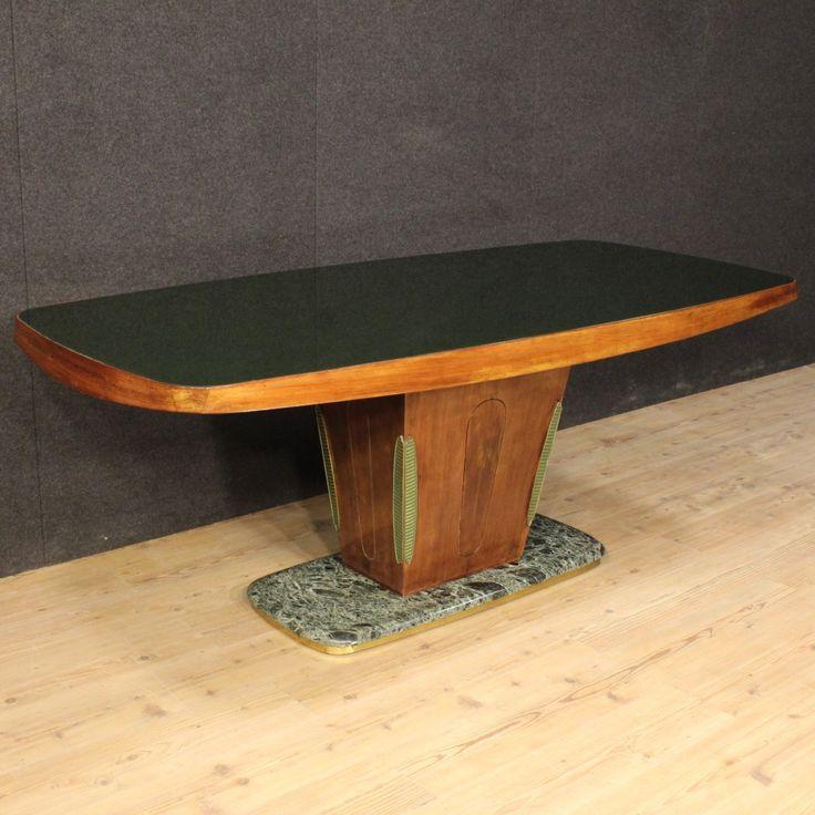 """3200€ Italian design table """"Dassi"""" in palisander. Visit our website www.parino.it #antiques #antiquariato #furniture #antiquities #antiquario #marble #table #tavolo #golden #gold #decorative #interiordesign #homedecoration #antiqueshop #antiquestore"""
