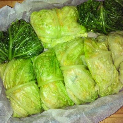 Q B Le ricette light: Ai fornelli con QB e Nadia: involtini di verza vegetariani