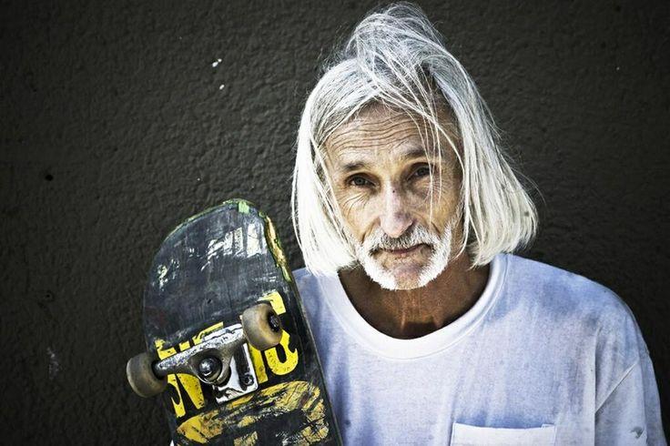 Neil Unger 60yo skater