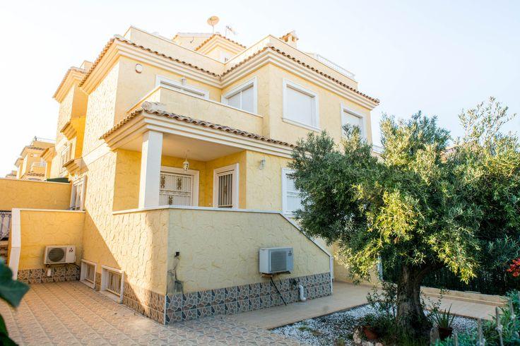RicaMar Homes Real Estate Costa Blanca | 4 Bed 2 Bath Townhouse in Rocajuna…