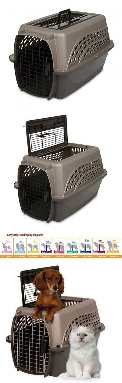 Carriers and Totes 177788: Petmate Two Door Top Load 24Inch Pet Kennel, Metallic Pearl Tan And Coffee -> BUY IT NOW ONLY: $48.44 on eBay!