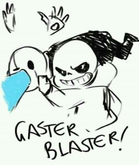 Umm... sans what are you doing with Gaster?...
