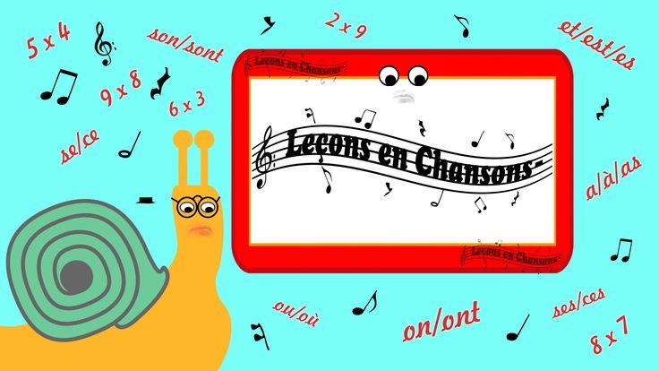 Vidéo de présentation des Leçons en Chansons !