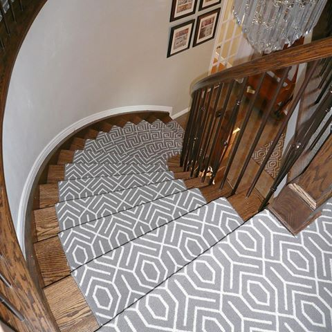 Major Stairgoals With This Tessio Installation By Personal Impressions In Ottawa Ontario Silver Creek Carpet Bloomsburg Carpet Stair Runner