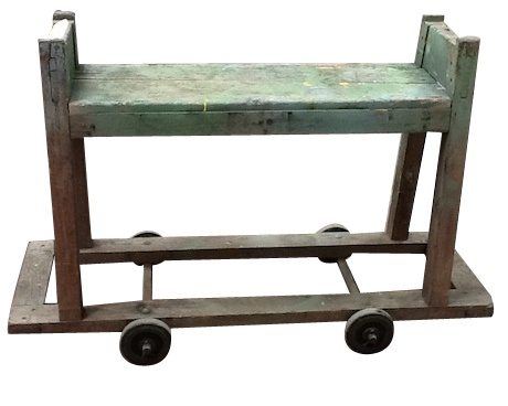 #wood and #iron #industrial trolley