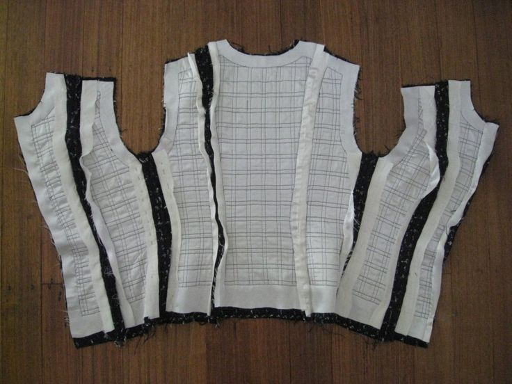 Sewing a chanel-style jacket- quilted lining