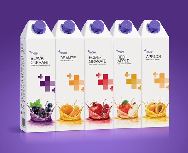 MORE Fruit Juice   Packaging of the World: Creative Package Design Archive and Gallery