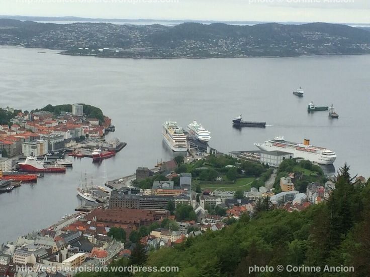 Costa Classica à Bergen en Norvège le 26 mai 2014