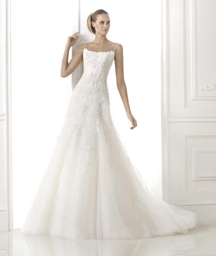 Cute BETANIA Wedding Dresses Glamour Collection Pronovias
