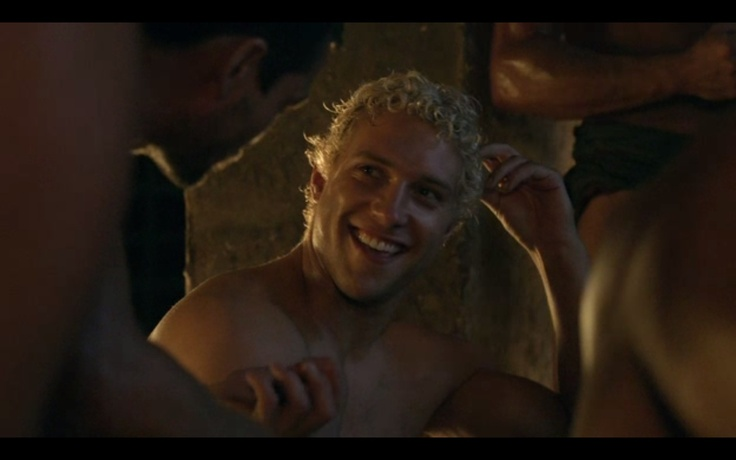 Jai Courtney in Spartacus  :))