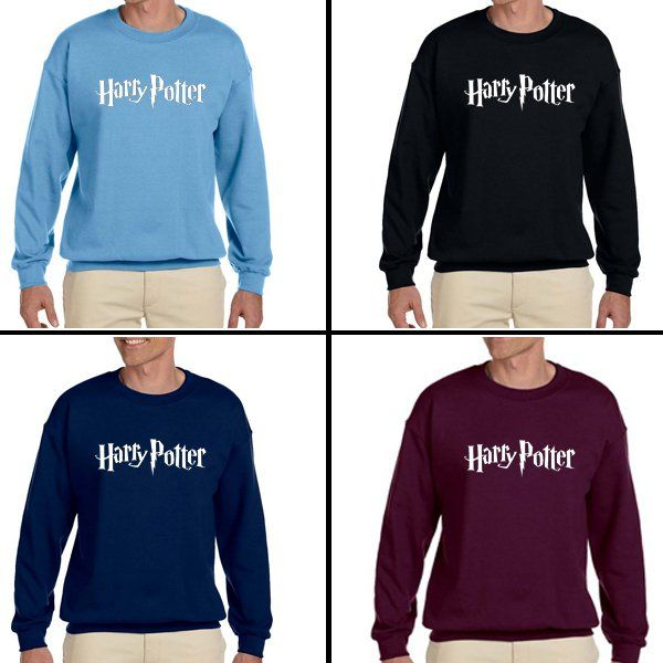 Harry Potter Unisex Adult sweater Crewneck Sweatshirt