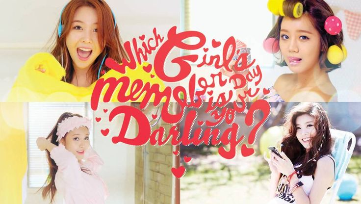Which Girl's Day member is your darling? + Signed CD Giveaway! | http://www.allkpop.com/article/2014/07/which-girls-day-member-is-your-darling-signed-cd-giveaway