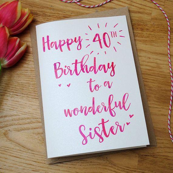 Personalised Birthday Card Custom Birthday Card 21st Etsy Personalized Birthday Cards Birthday Cards 40th Birthday Cards