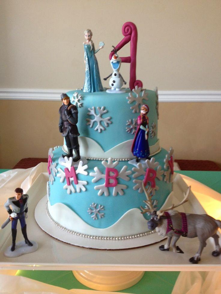 25 best Frozen cake designs ideas on Pinterest Disney frozen
