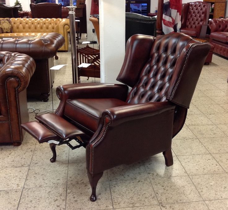 Wing Chair Als Verstellbarer TV Sessel