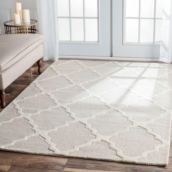 $229.83   NuLOOM Handmade Alexa Moroccan Trellis Wool Area Rug (7u00276 X 9