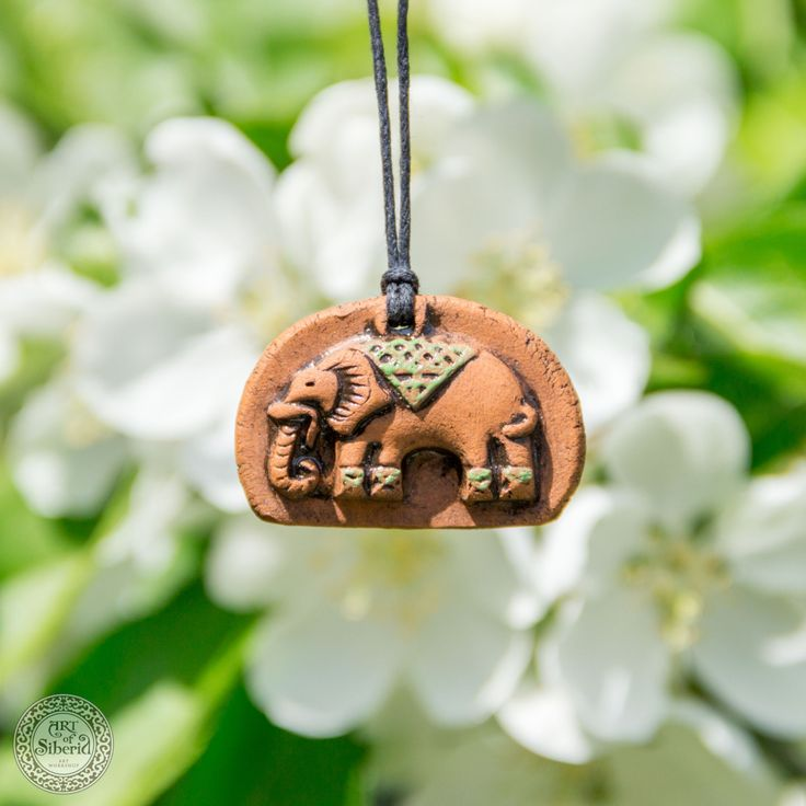 Clay Aromatherapy pendant essential oil perfume necklace Terracotta Clay fragrance diffuser #G42 by ArtOfSIberia on Etsy