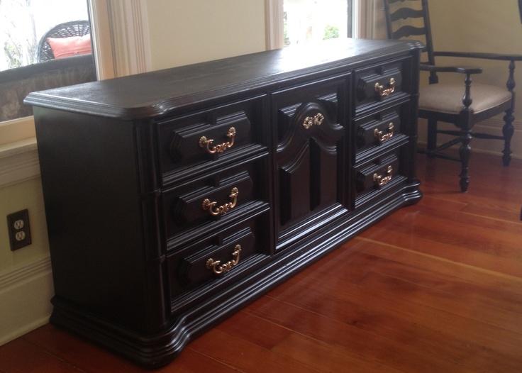 1960 S Refurbished Dresser Turned Buffet Refurbished