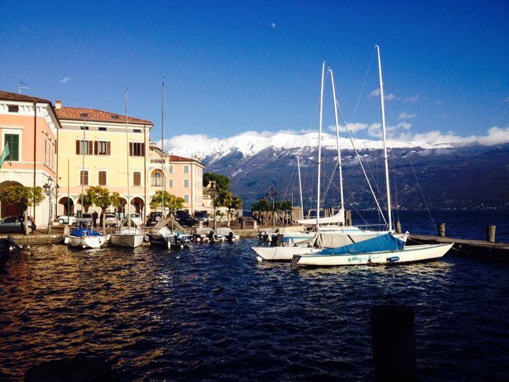 Porto di Gargnano in Gargnano, Lombardia