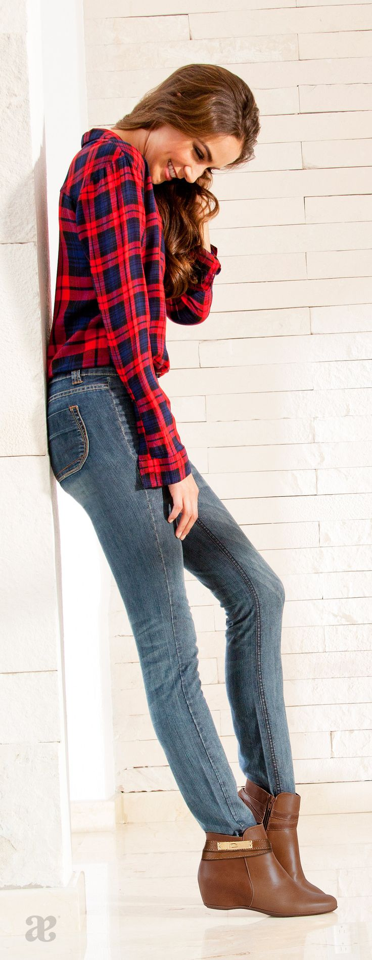 Outfit casual para las tardes de otoño. #jeans #botines #basicos