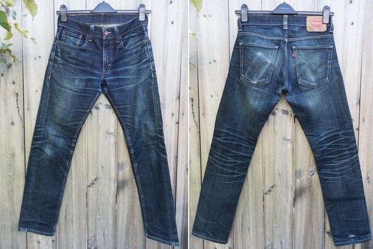 Fade of the Day - Levi's 511 Rigid Dragon (18 months, 1 wash). Go to: http://hddls.co/fotd-levis-511-rigid