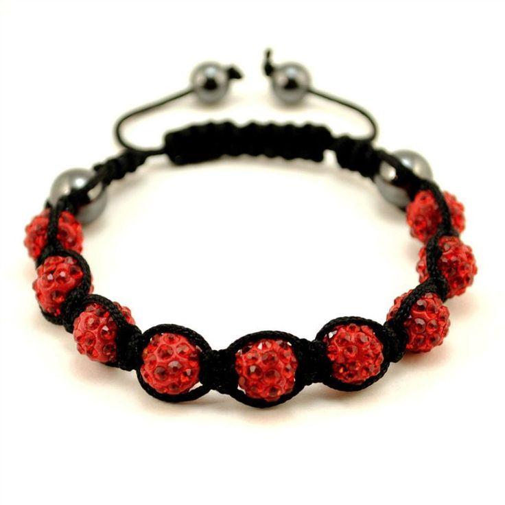 Shamballa Crystal Pave Bracelet