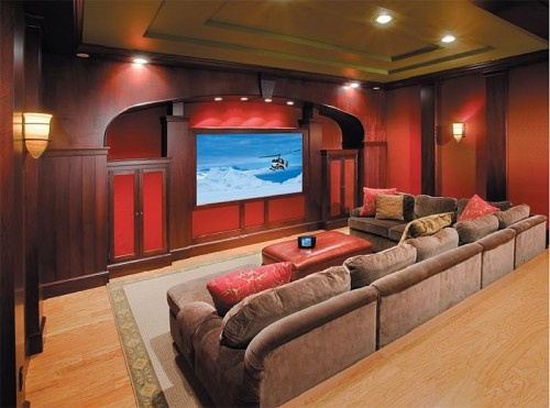 This Is What My Son Thinks We Should Do In The Basement. Home Theater  DesignHome ...