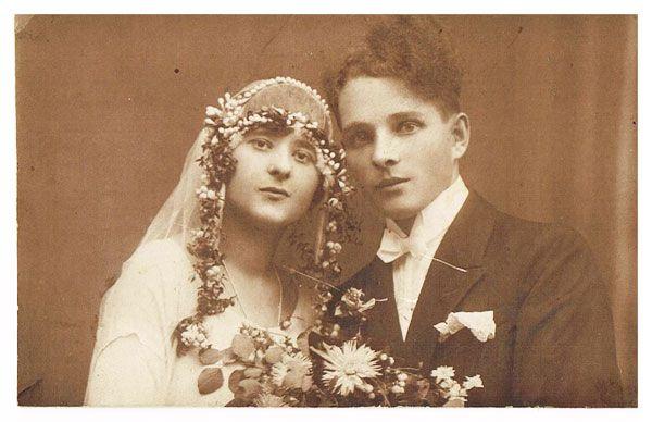 Dziadkowie-portret-ślubny