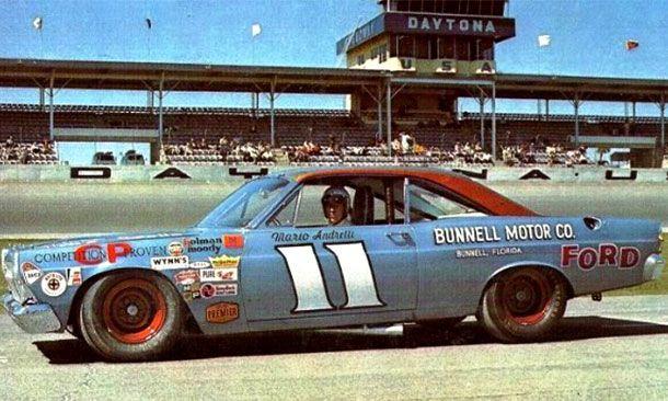 Mario Andretti - 1967 Daytona 500 winner.