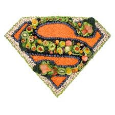 A great reminder that natural food makes you feel like are Superman.