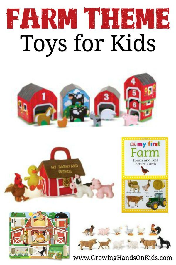 Farm Toddler Toys Age Two : Farm theme toys and gifts for toddlers preschoolers