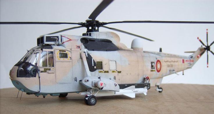 1/72 Sea King with Exocet missiles - Qatar Emiri Air Force