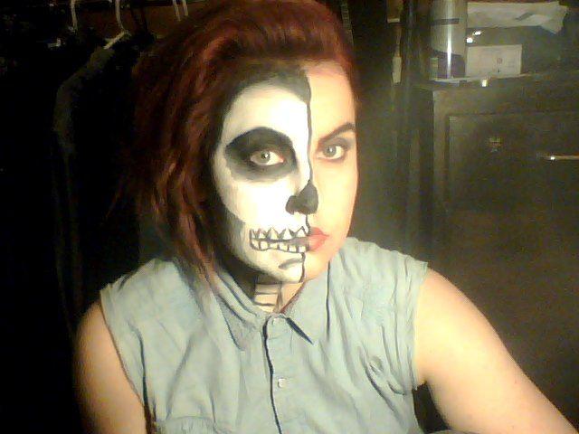#Skull #Fantasy Makeup by TiaRose