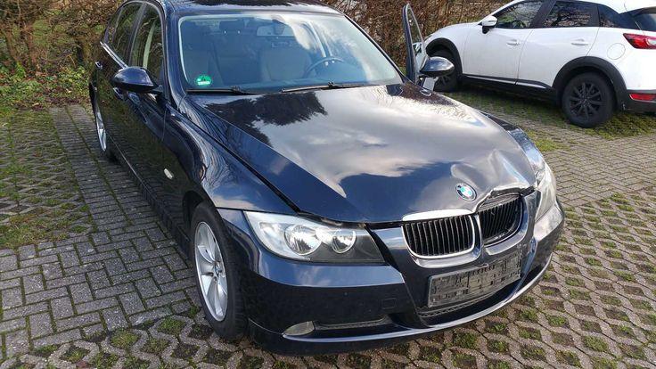 BMW E90 318d blau leichter Unfall, ansonsten TOP! + Winter und Sommerreifen   Check more at https://0nlineshop.de/bmw-e90-318d-blau-leichter-unfall-ansonsten-top-winter-und-sommerreifen/