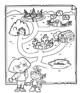 maps to color printable coloring - Thunder Cats Coloring Book Pages