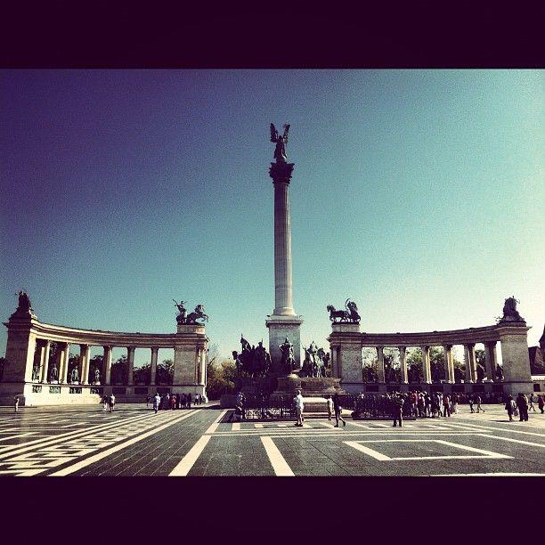 Que bella Ciudad Budapest. Aquí actuamos!!