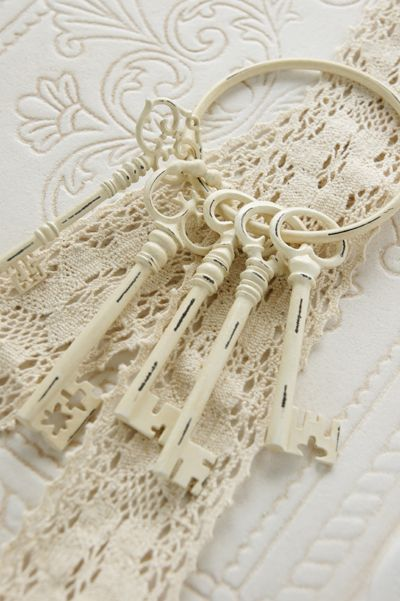 .geschilderde sleutels