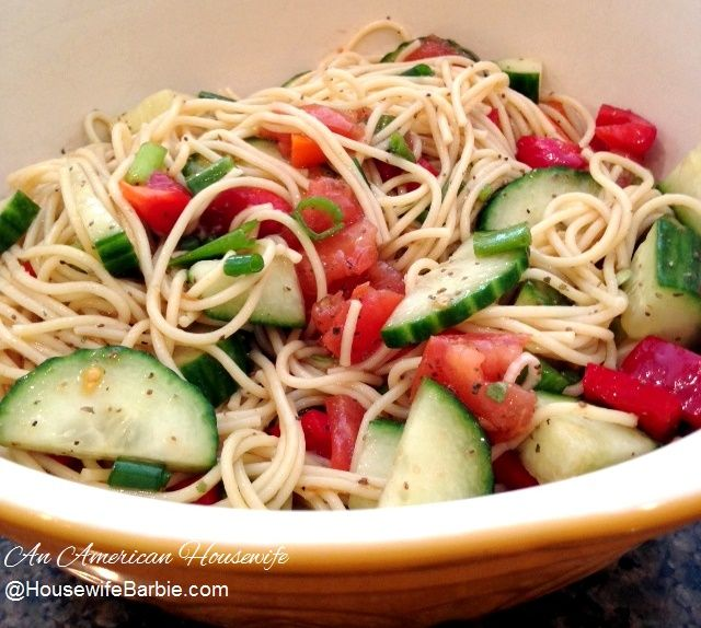 Best 25 cold spaghetti salad ideas on pinterest cold for Cold pasta salad ideas