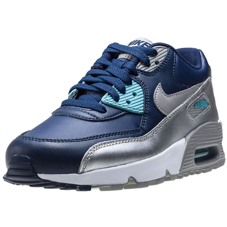 Nike Air Max 90 Leather GS 833376-005   The Nike Air Max 90 Leather Big Kids' Shoe features a leather upper and a visible Max Air unit Read  more http://shopkids.ca/nike-air-max-90-leather-gs-833376-005/