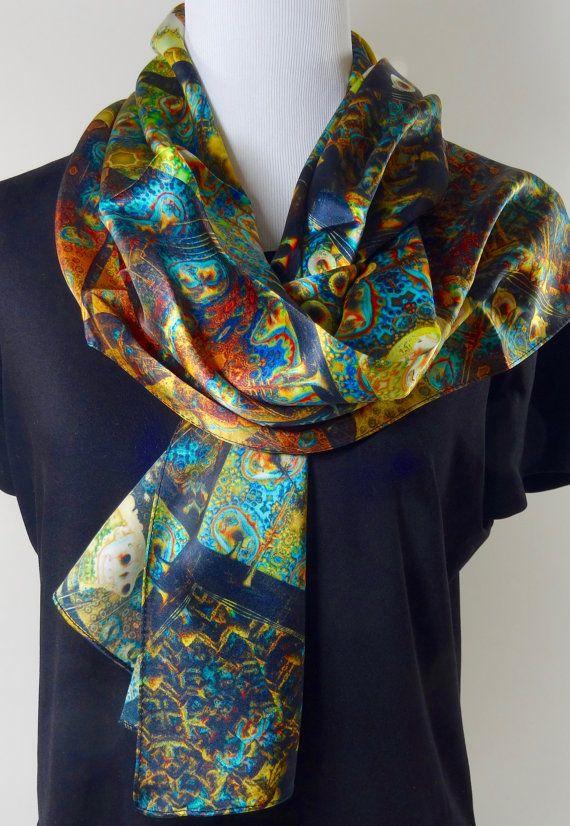 NEW Bright sunshine yellow 100/% silk long floaty chiffon scarf