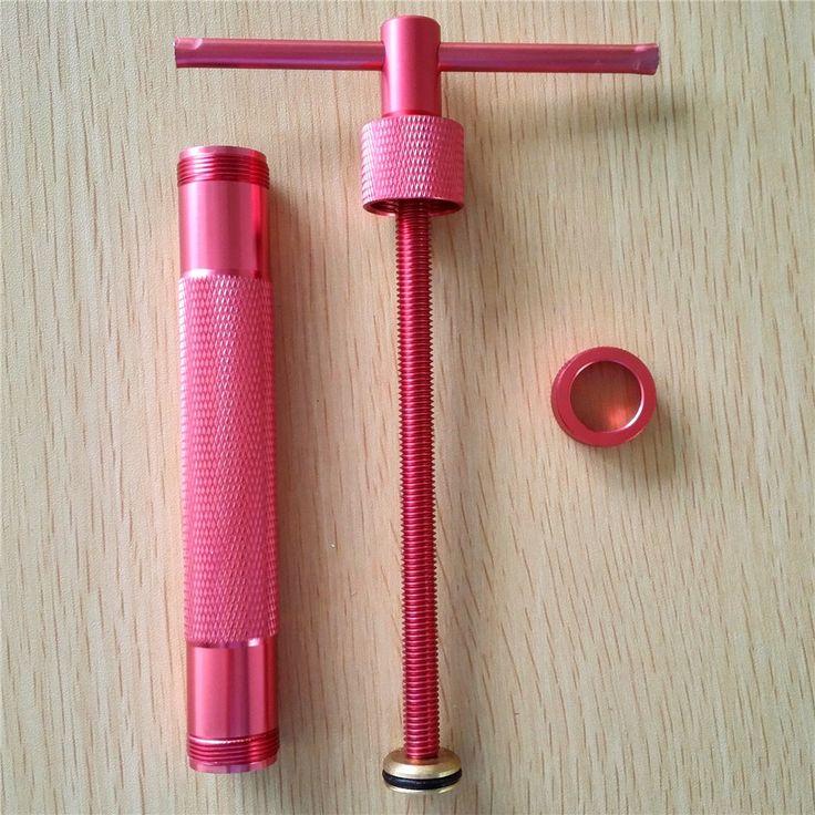 Mawar Merah Logam Paduan Gula Pasta Extruder Craft Gun dengan 20 Tips Gula Kerajinan Fondant Cake Polimer Tanah Liat Alat Patung sempurna