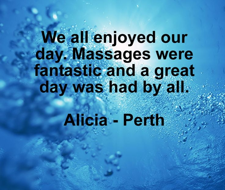 Awesome feedback from Alicia :-)  PERTH MASSAGE https://www.ripplemassage.com.au/locations/perth-massage/ #Perth #Cloverdale #Kewdale #QueensPark #Welshpool #Highgate #MountLawley #MtLawley #Bedford #Maylands #EastVictoriaPark